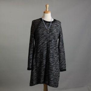 [Madewell] heathered sweatshirt dress